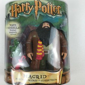 Harry Potter Hagrid & Norbert 2002 Magical Minis C